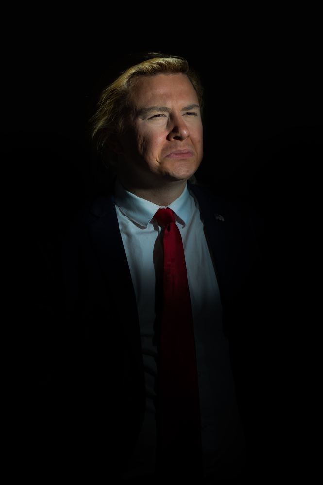 Alexander Sparrow, Trump lightbulb moment - photo by Carl Anderson.jpg